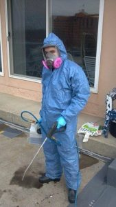 Sewage Backup Restoration Technician